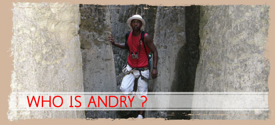 Who is Andry on Madagascar Tour Guide
